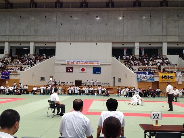 第35回 東北中学校柔道大会