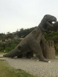 【Bigな恐竜滑り台】粟島サイクリングの帰り道