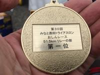 【優勝しました!】みなと酒田トライアスロン おしんレース2015【リレーの部】