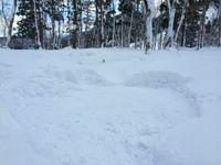 【真冬のとことん山スノーキャンプ】初めて体験を盛り込んでみました
