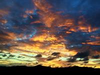 【神々しい空】久しぶりに美しい黄昏を見ました