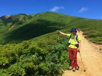 【山の日に栗駒山】軽いコースでリハビリしてきました