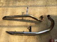【マグナ250】サドルバッグとノーマルマフラーの組み合わせ検証