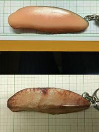 【食品サンプル裏面問題】キーホルダーをカスタマイズ