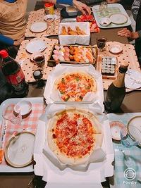 【クリスマスと鏡餅】家族でパーティー