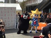 くまモン&ソラカラちゃん(スカイツリーにて)