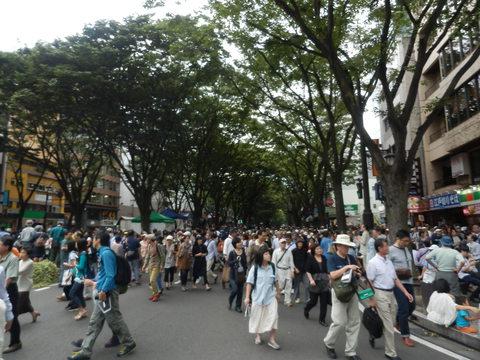 定禅寺ジャズフェスティバル2014