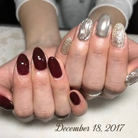 12月ネイル!