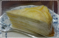 レモンのミルクレープ☆