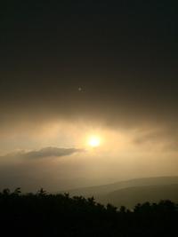 今日の月山  7月20日