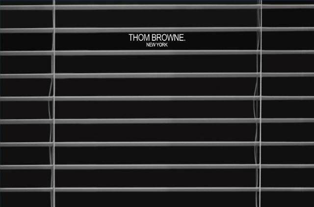 THOM BROWNE. について