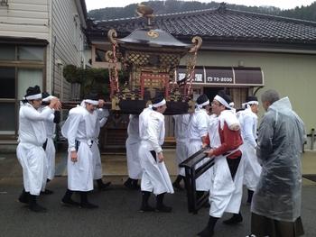 三瀬気比神社例大祭