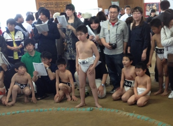 わんぱく相撲鶴岡場所