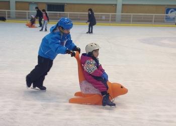 今シーズンの初スケート
