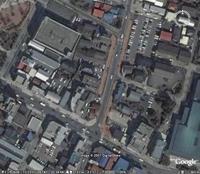 新築西通り(南端)
