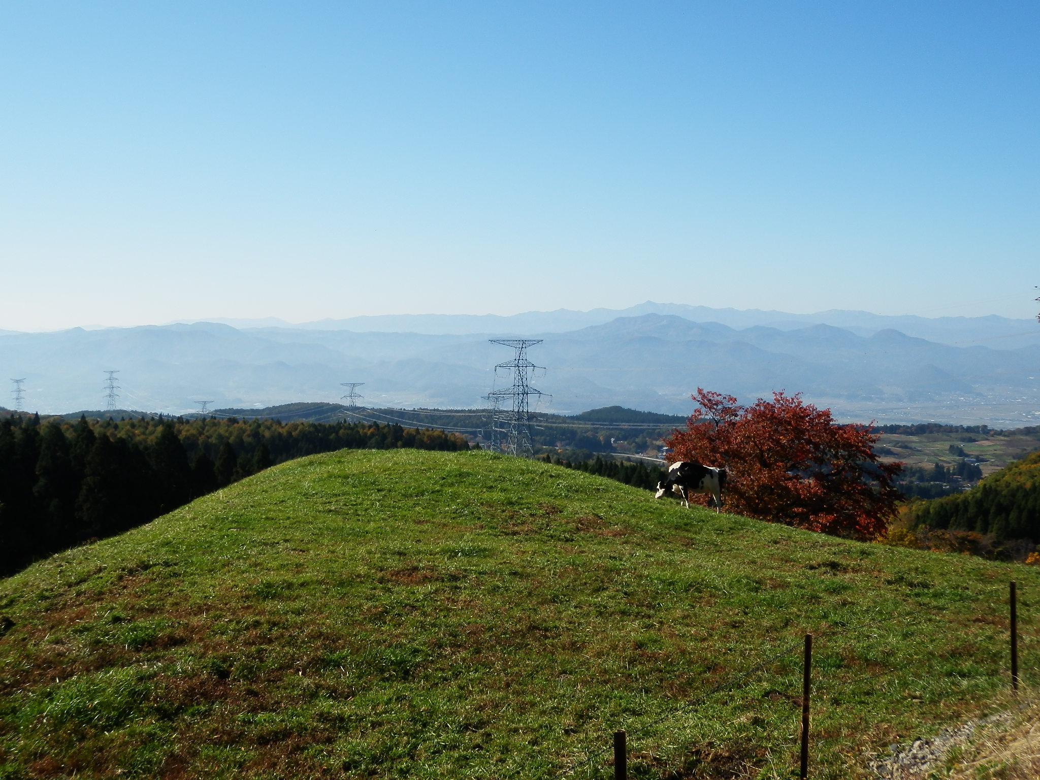 西蔵王放牧場:秋