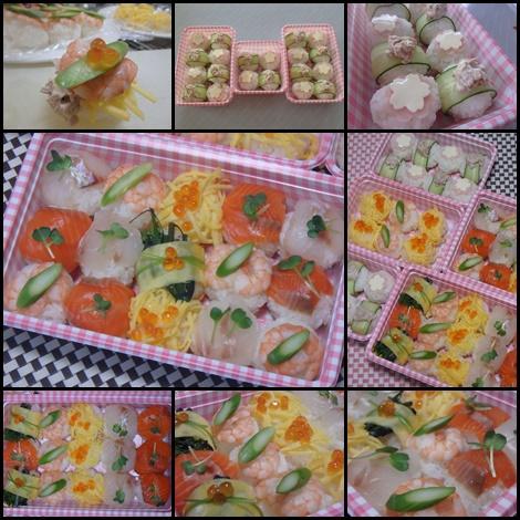 手毬寿司・てまり寿司・紫折菜・ひなまつり・雛祭り・上巳の節句(じょうしのせっく)