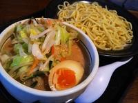 しょうゆつけ麺・ごま野菜つけ麺・餃子・つけ麺道 癒庵・酒田市こあら2-17-12