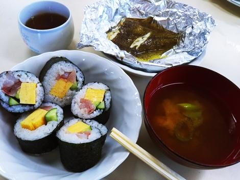 富士見小学校 第6学年親子レク 地魚料理教室