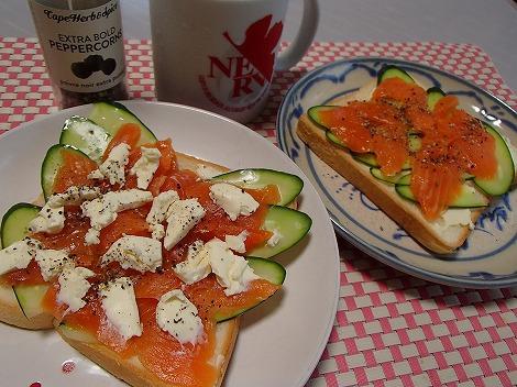 カフェ余目製パン・サンドイッチ・ハンバーグ・ももサンド・食パン・スモークサーモン・梵天焼