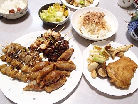 池田精肉店の焼き鳥・とり皮餃子・フライドチキン