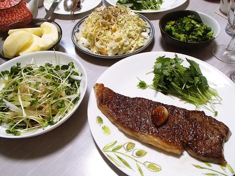 神戸ビーフサーロイン&柔らか赤身食べ比べのクリスマス(1)