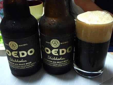 漆黒(しっこく)・COEDO BREWERY・コエドビール・黒ビール