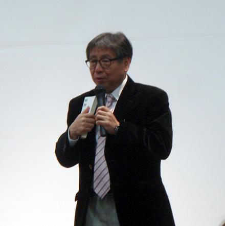 森田正光さん・お天気キャスター・雷ランチ・雷サミット12
