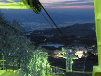 2月2日蔵王樹氷ライトアップ