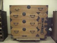 古い和箪笥の修理実例