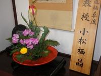 生け花の個展